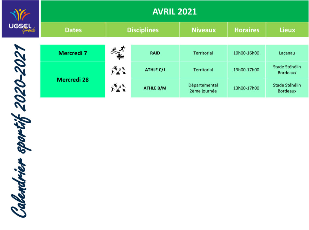 CALENDRIER SIMPLIFIE 2020-2021-avril